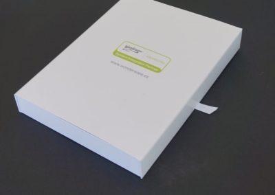 Caja Carpeta Impresión Digital y Cinta