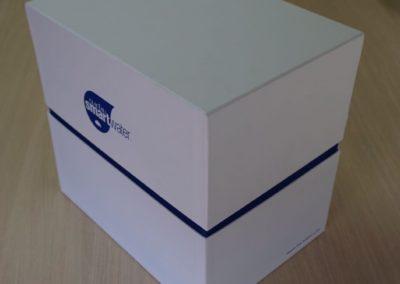 Boîte à double compartiment